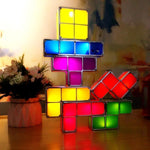 Load image into Gallery viewer, Tetris Stackable LED Night Light