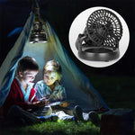 Load image into Gallery viewer, Portable Camping Lantern with Ceiling Fan