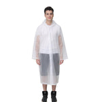 Load image into Gallery viewer, Unisex Reusable Portable Frosted Raincoat