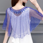 Load image into Gallery viewer, Vintage Women Sequin Cape Dress Shawl