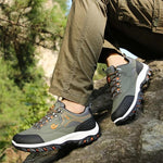 Load image into Gallery viewer, Men's Mesh Breathable Waterproof Athletic Outdoors Sneakers