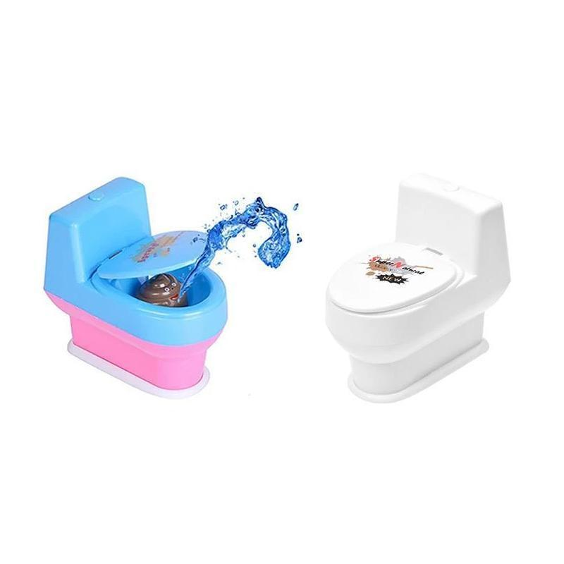 Prank Toy Screaming Spout Toilet