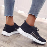 Load image into Gallery viewer, Women Walking Mesh Lace Up Casual Breathable Sneakers