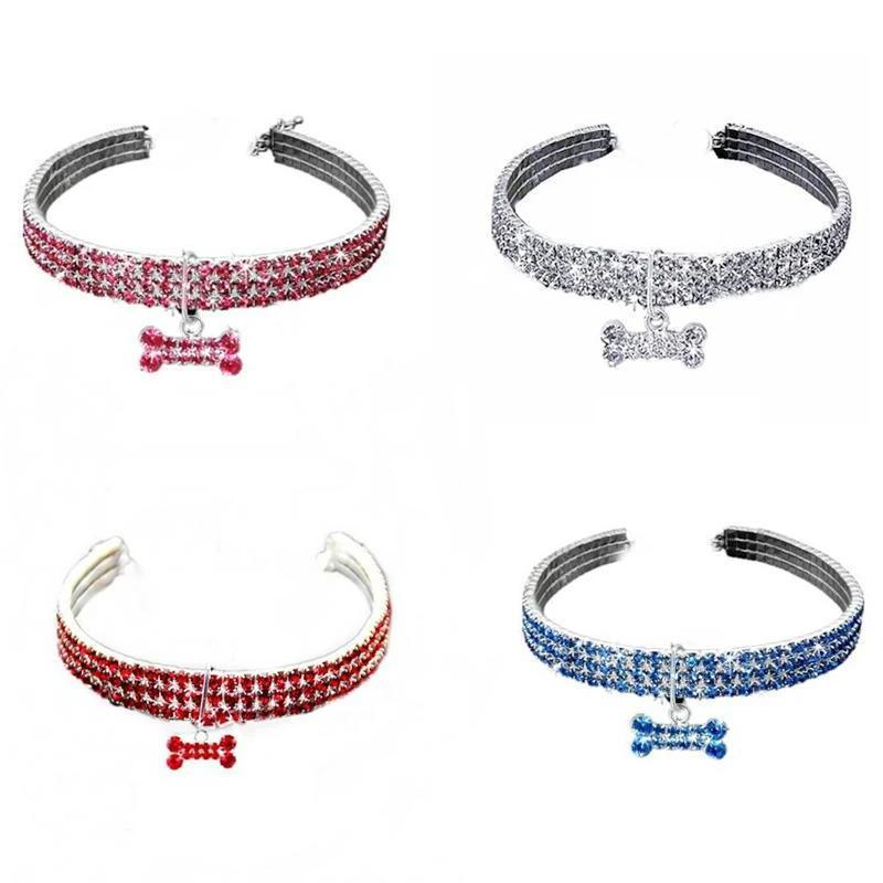 Tripple Crystal Collar