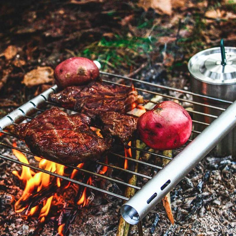 Ultra-Compact Adventure Travel Grill