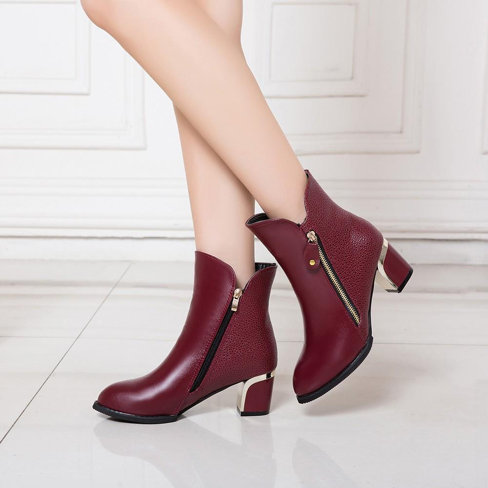 Women Pumps England Martin Boots