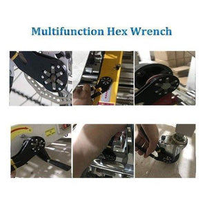 Multi-function Logger Head Bionic Grip Wrench