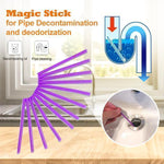 Load image into Gallery viewer, Magic Stick for Pipe Decontamination & Deodorization (12 PCS)