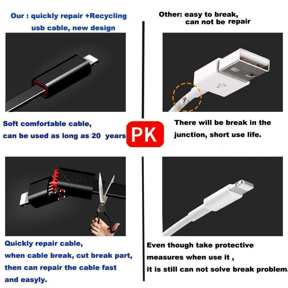 Quickly Repair Recycling Phone Charger Cable