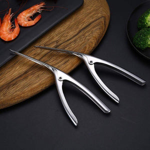 Stainless Steel Shrimp Peeler
