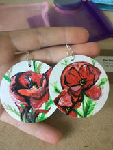 Load image into Gallery viewer, Earrings - Custom painting