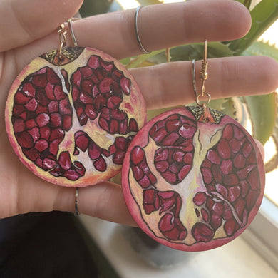 Earrings - Custom painting