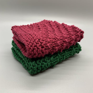 Dishcloth set - Christmas
