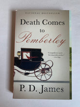 Load image into Gallery viewer, Book - Death Comes to Pemberley