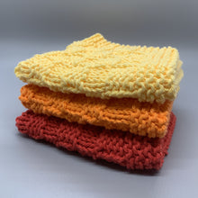 Load image into Gallery viewer, Dishcloth sets - Warm colors