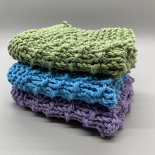 Load image into Gallery viewer, Dishcloth Sets - Cool colors
