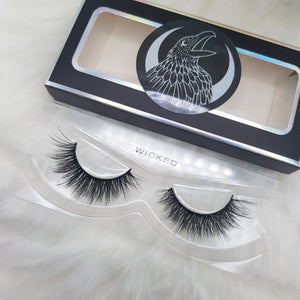 """Wicked"" 3D luxury faux mink lashes"