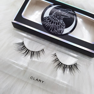 "Premium invisible Lashes: ""Clary"" faux cils 3D invisibles"