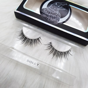 "Premium invisible Lashes: ""Dolly"" faux cils 3D invisibles"