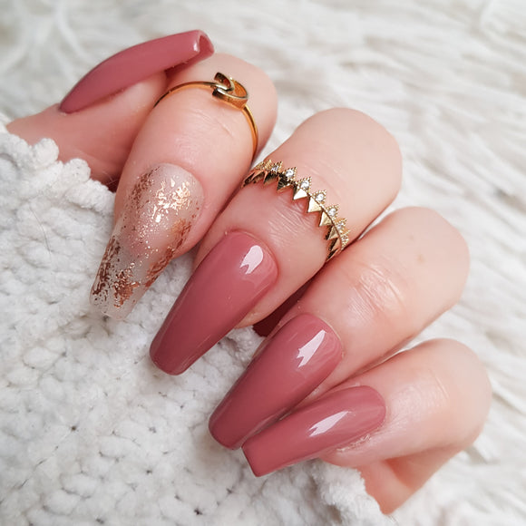 Rose Gold frost