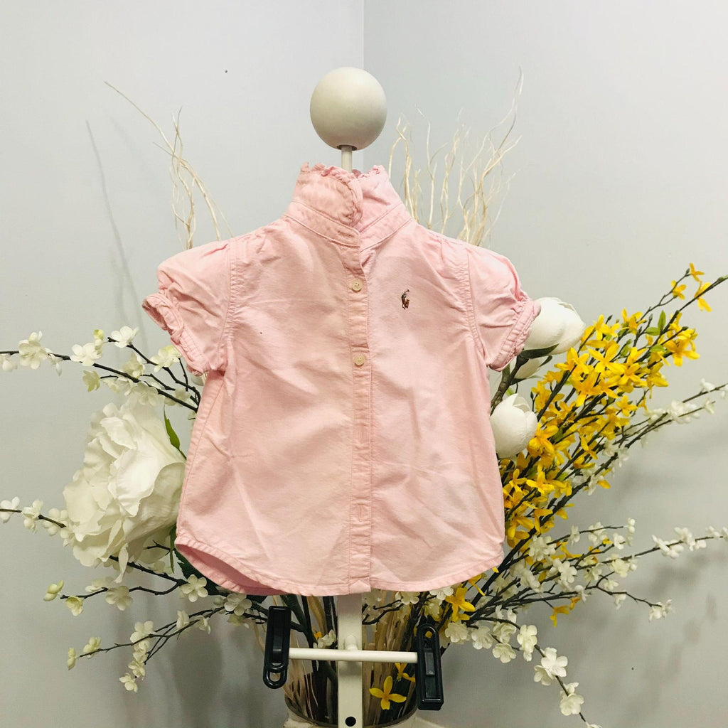 Polo by Ralph Lauren girls short sleeved top size 18M EUC