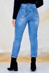 Adele Jeans - Light Wash