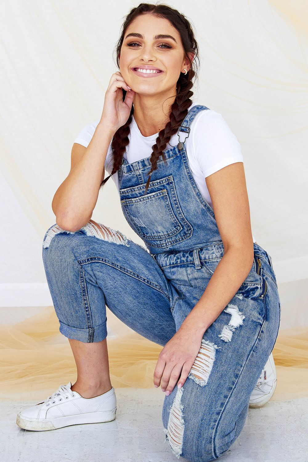 Noemi Overall - Denim