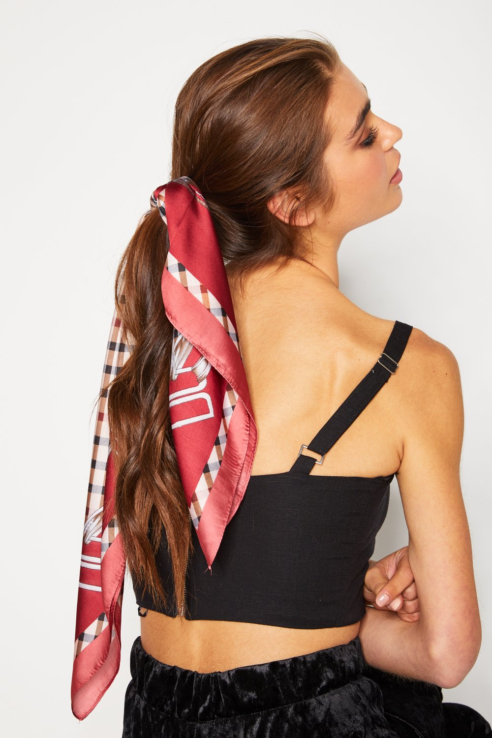 Paola Scarf - Red