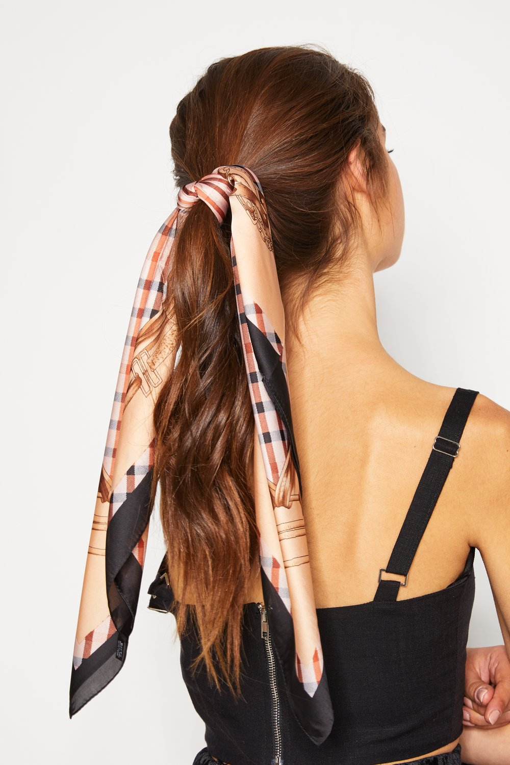 Helena Scarf - Brown