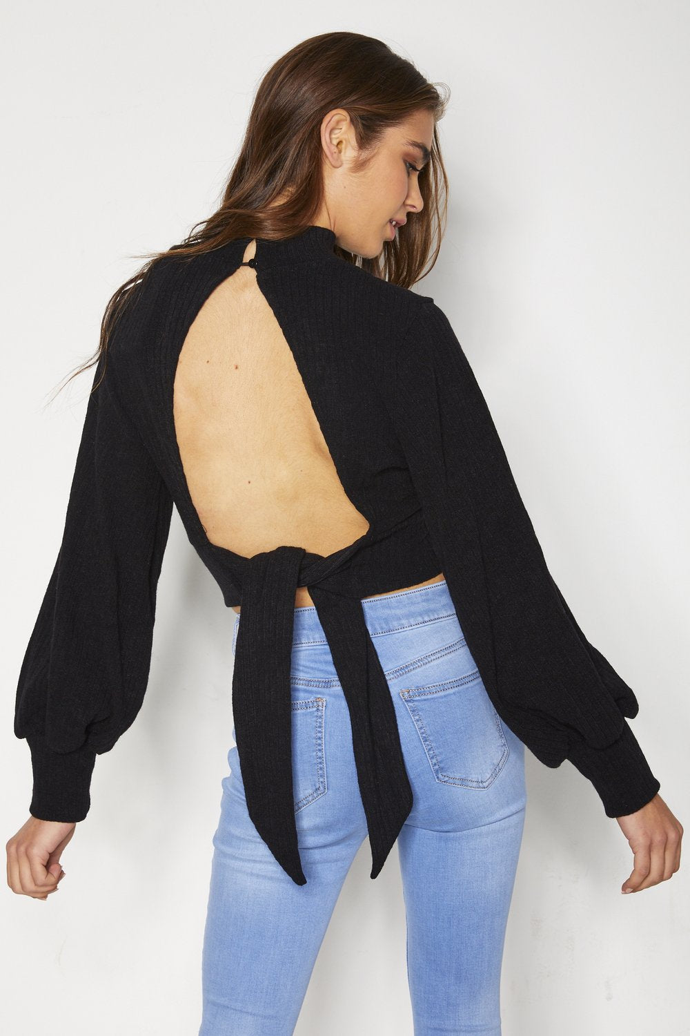 Daphne Knit Top - Black