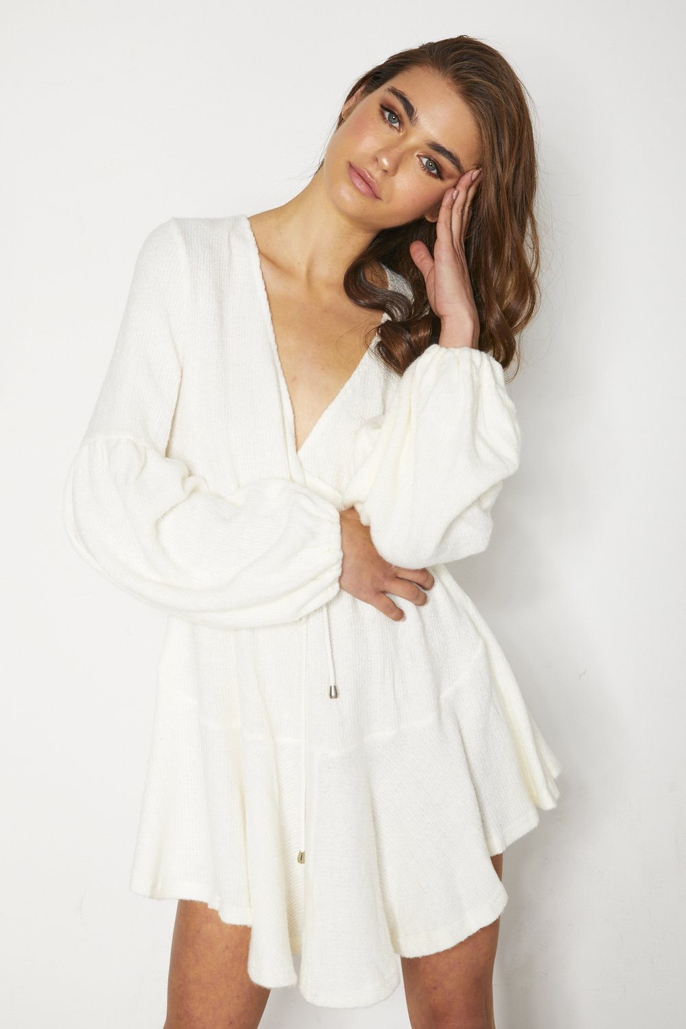 Lisa Dress - White
