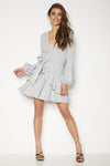 Lena Dress - Marble Grey