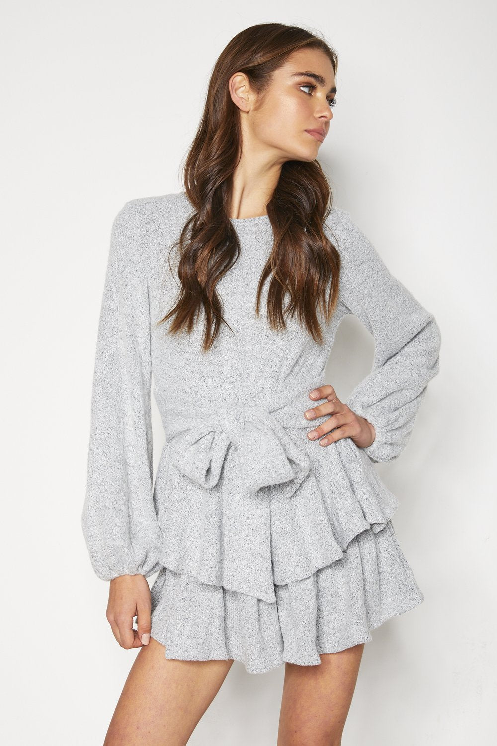 Ava Playsuit - Grey