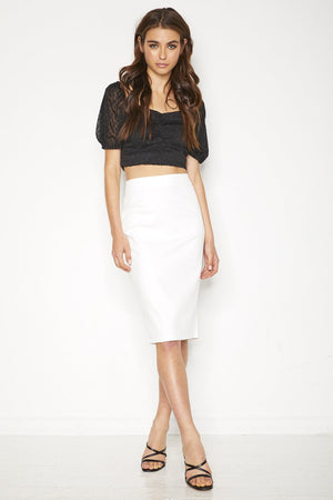 Alicia Skirt - White