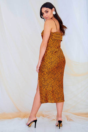 Matilde Dress - Gold
