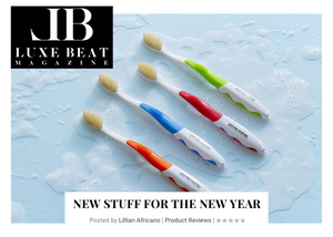 DOCTOR PLOTKA'S Toothbrushes FEATURED on Luxe Beat Magazine
