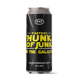 Fastest Hunk of Junk in the Galaxy | 8.1% | 440ml
