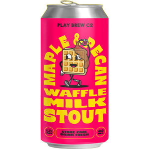 Maple and Pecan Waffle Milk Stout | 6.3% | 440ml