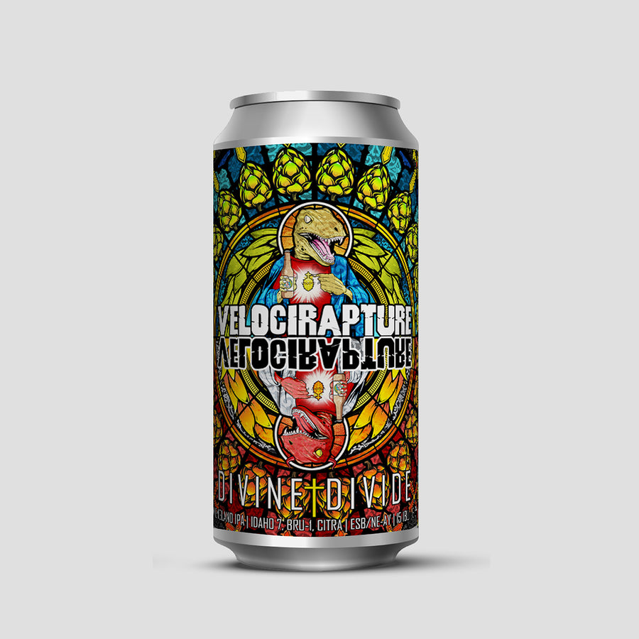 VelociRapture Divine | Divide New - New England IPA | 6.5% | 440ml