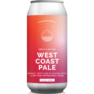 West Coast Pale | 4% | 440ml