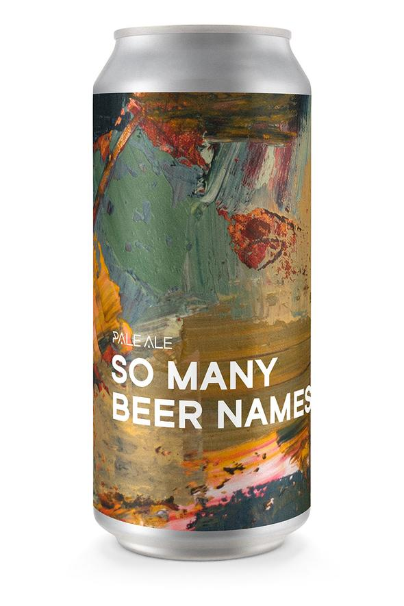 So Many Beer Names | 4% | 440ml