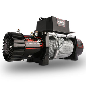X-BULL 12000LBS Wireless Steel Cable Electric Winch
