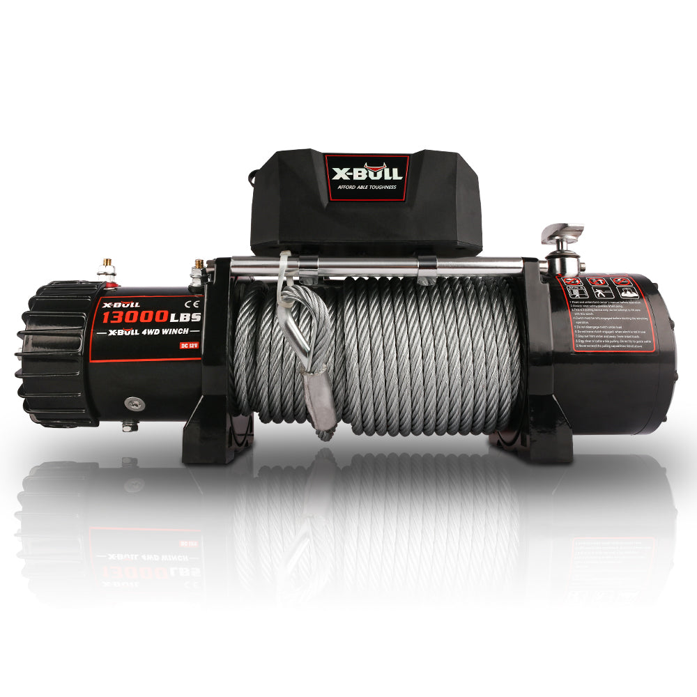 X-BULL Wireless Steel Cable 13000LBS Electric Winch