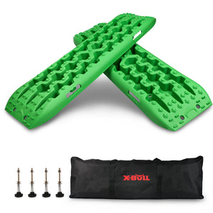 X-BULL RECOVERY TRACKS RECOVERY TRACTION TRACKS SAND - MUD - SNOW TIRE LADDER
