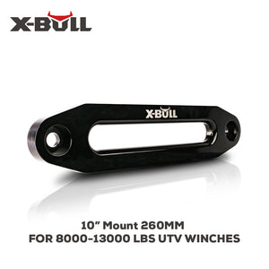 "X-BULL 10"" Alu Hawse Fairlead for Synthetic Winch 8000-13000 LBS Rope Cable 4WD"
