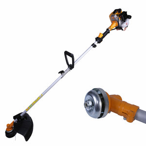 Xbull Grass String Trimmer Gas Powered Straight Shaft Recon 28CC 2-Cycle Orange