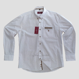CAMISA ESTAMPADA CASUAL CUSTI MIKELO