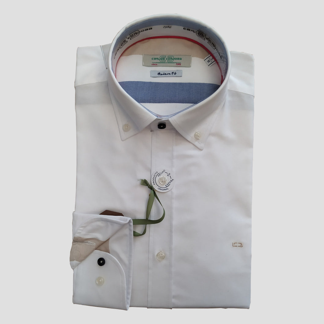 CAMISA OXFORD CASUAL REGULAR FIT