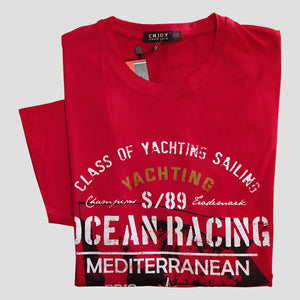 CAMISETA ALGODÓN OCEAN RACING REGULAR FIT