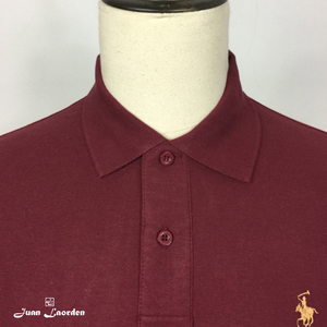 POLO BASICO ALGODÓN | REGULAR CASUAL BURDEOS